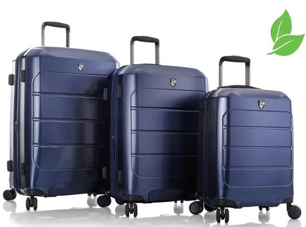 Heys EcoCase Recycle Exclusiv 4-Rollen Trolley Set 3-tlg.