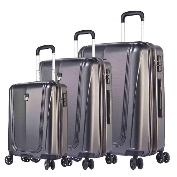 Verage® Shield 4-Doppelrollen Hartschalen Trolley Set 3-tlg.