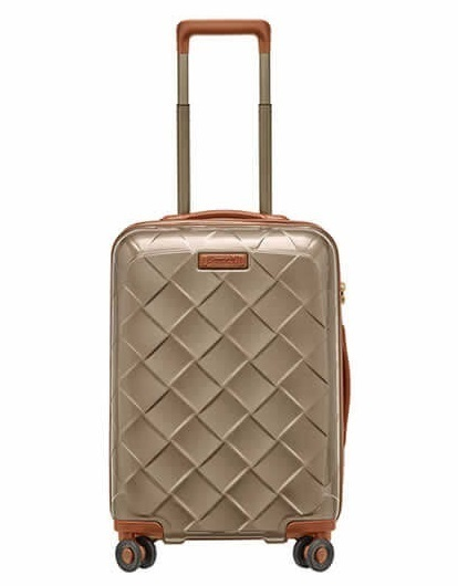 Stratic LEATHER & MORE 4-Rollen Koffer Trolley -S-
