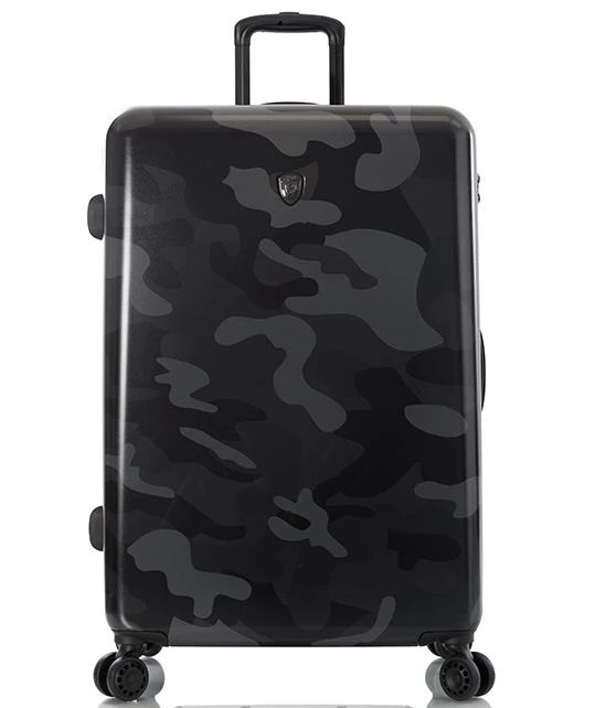 "Heys Black Camo 30"" Fashion Spinner® 4-Rollen Trolley -L- 76 cm"