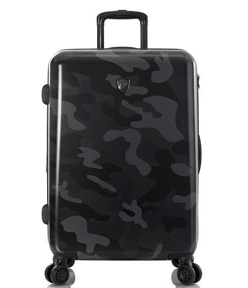 "Heys Black Camo 26"" Fashion Spinner® 4-Rollen Trolley -M- 66 cm"