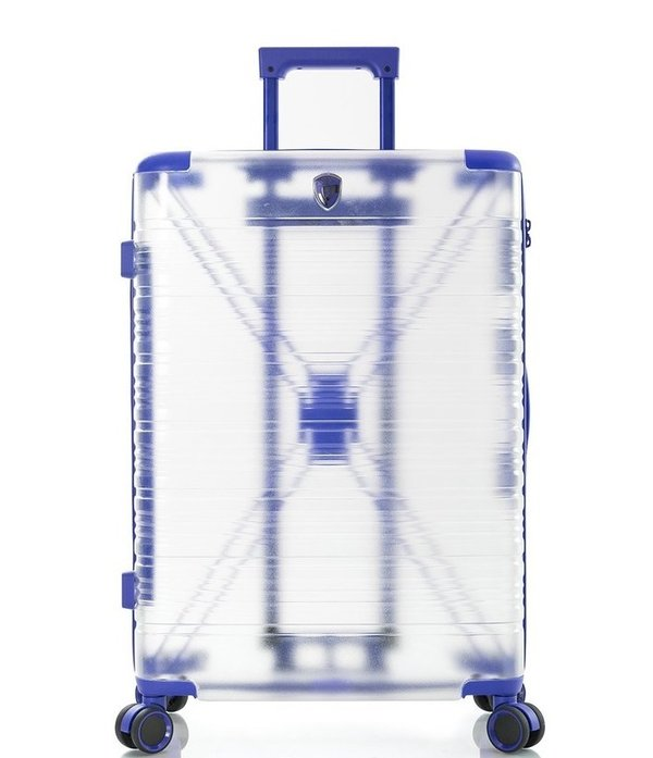 "Heys X-Ray 26"" Transparent 4-Rollen Koffer Trolley -M- 66 cm"