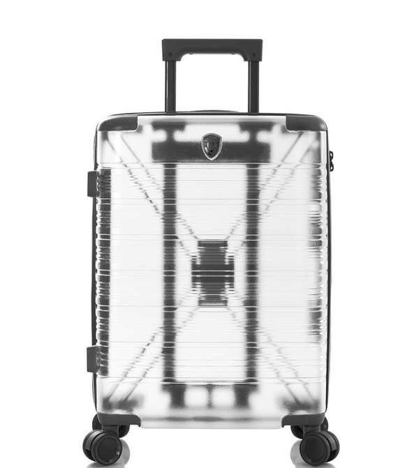 "Heys X-Ray 21"" Transparent 4-Rollen Bord Trolley -S- 53 cm"