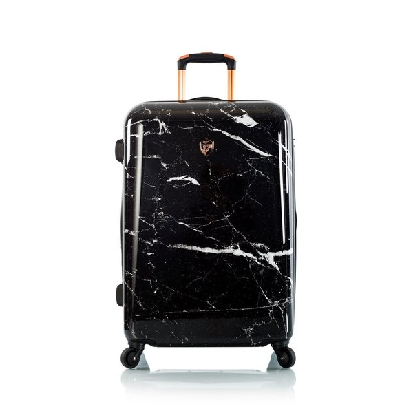 "Heys Marquina - Black Marble 26"" Fashion Spinner® Trolley -M- 66 cm"