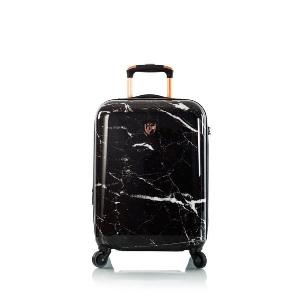 "Heys Marquina - Black Marble 21"" Fashion Spinner® Cabin Trolley -S- 53 cm"