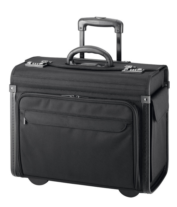D&N Business Line Panzer Nylon Piloten Trolley 16""