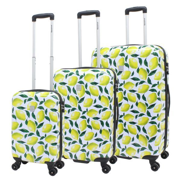 Saxoline LEMON 4-Rollen Reise Trolley Set 3-tlg.