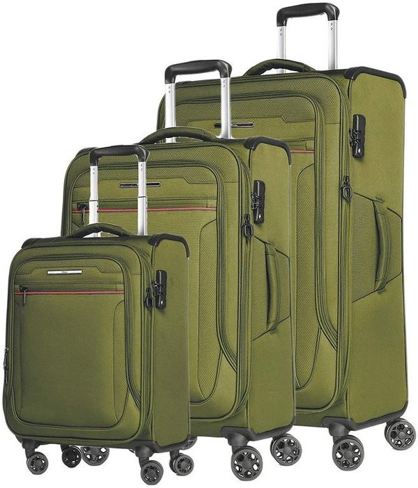 Verage® Toledo 4-Rollen Reise Trolley Set 3-tlg.