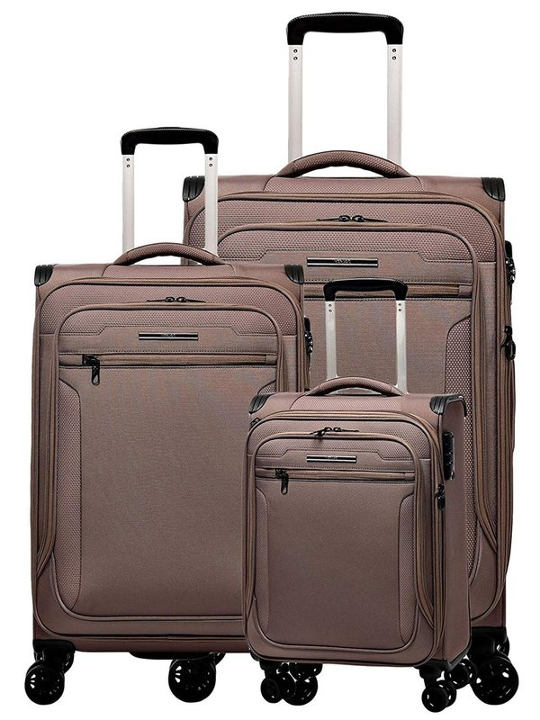 Verage® Toledo Limited Edition 4-Rollen Reise Trolley Set 3-tlg.