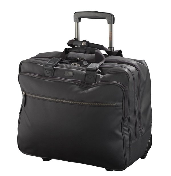 Jump STRIPE 2-Rollen Business Laptoptrolley 2 Fächer 17""