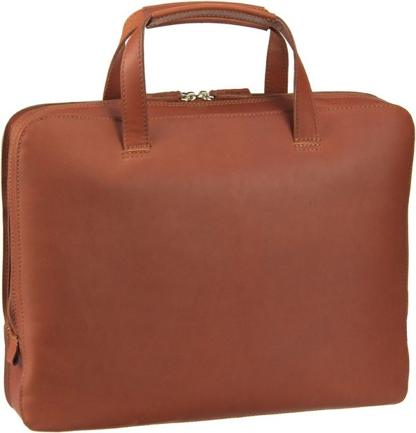 Jost FUTURA Leder Business Laptop Tasche -L-