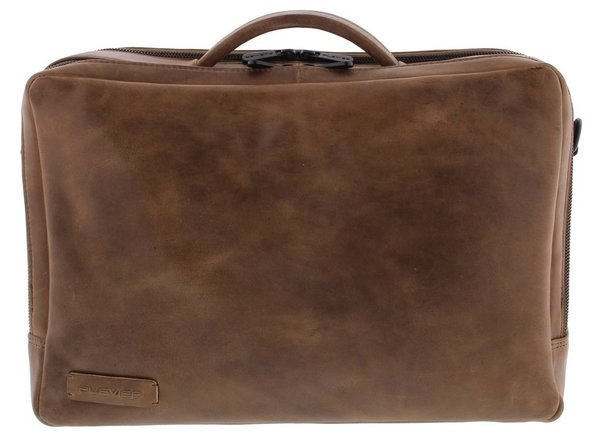 Plevier PURE DEVON Leder Businesstasche 15,6""