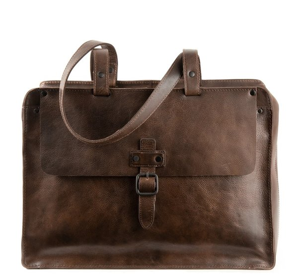 Harolds Bag ABERDEEN Leder Business Aktenmappe -XL-