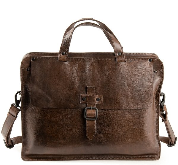 Harolds Bag ABERDEEN Leder Business Aktenmappe -S-