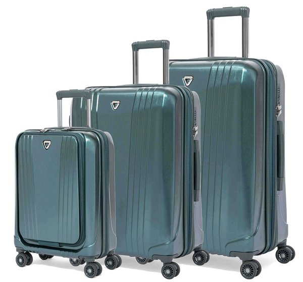Verage® MANHATTAN II 4-Rollen Reise Trolley Set 3-tlg.