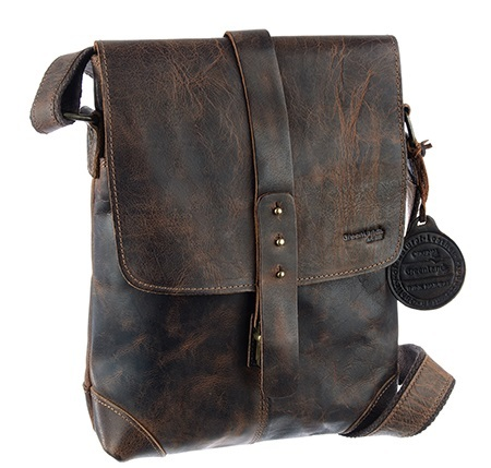 Greenland Classic Vintage Leder Casualbag A4